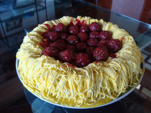 tarta de espagueti